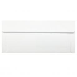 #9 ซองจดหมาย หน้าต่าง 106x40 ขาว ฝากระเป๋า พับนอก