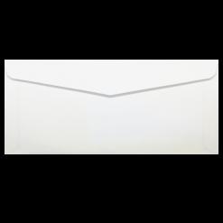 #9 ซองจดหมาย หน้าต่าง 115x38 ขาว ฝาแหลม พับนอก